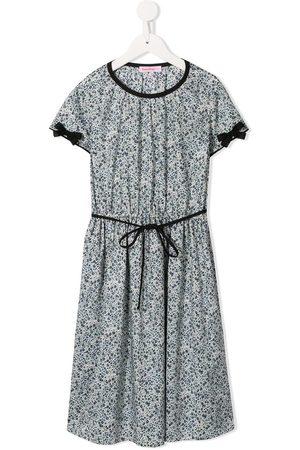 Familiar Floral printed day dress - Grey
