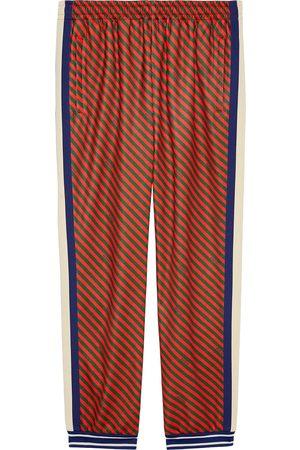 Gucci Loose striped jogging pant