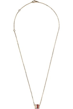 Boucheron Women Rings - 18kt white, yellow and rose gold Quatre Mini Ring pendant necklace - 3G
