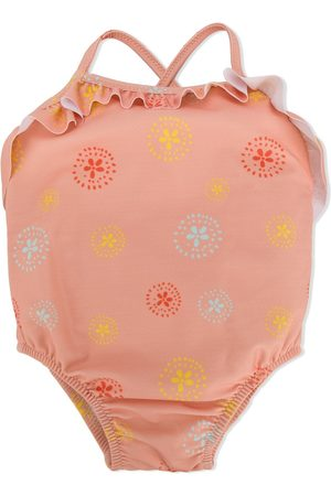 KNOT Baby Swimsuits - Batik flower swimsuit