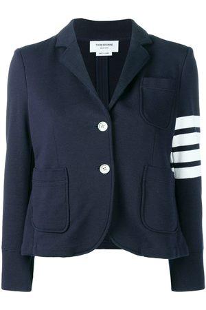 Thom Browne Women Blazers - 4-Bar stripe sports blazer