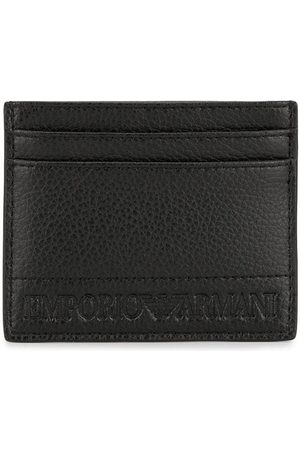 Emporio Armani Logo embossed card holder