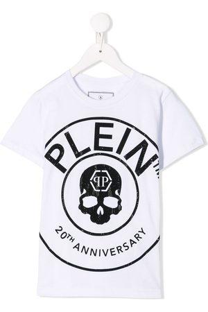 Philipp Plein Boys T-shirts - Round Neck SS Anniversary 20th T-shirt