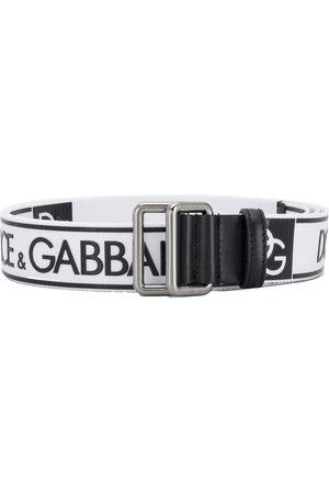 Dolce & Gabbana Logo printed belt