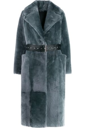 Common Leisure LOVE belted coat - Grey