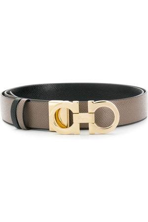 adidas Gancini leather belt - Neutrals