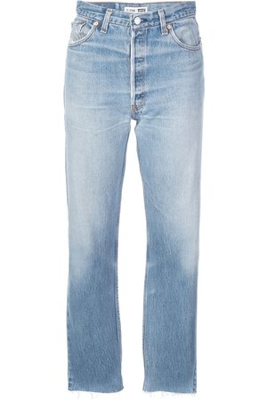 RE/DONE Women Slim - Slim faded jeans