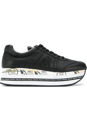 Premiata Platform logo sneakers