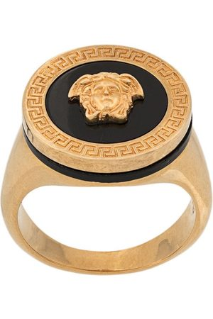 VERSACE Men Rings - Resin medusa ring