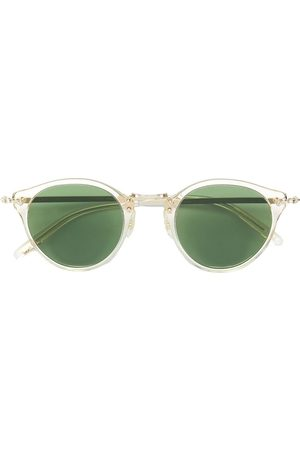 Oliver Peoples Round shaped sunglasses - Metallic