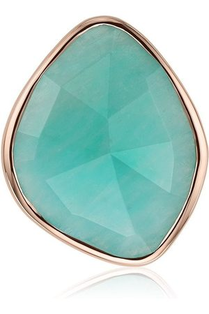 Monica Vinader Women Rings - Siren Nugget Cocktail Amazonite ring