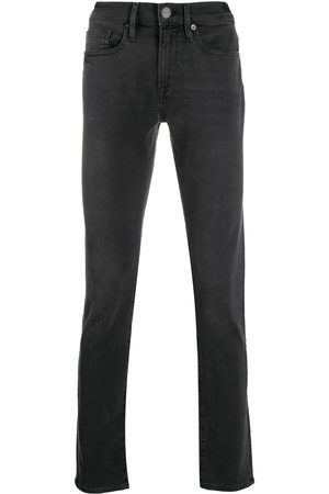 FRAME Mid-rise skinny jeans - Grey