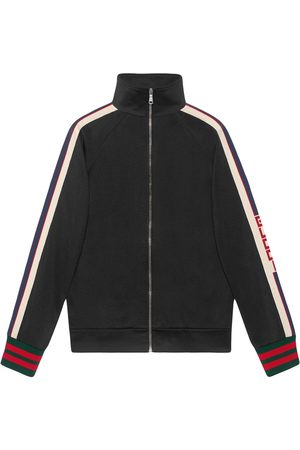 Gucci Men Jackets - Technical jersey jacket