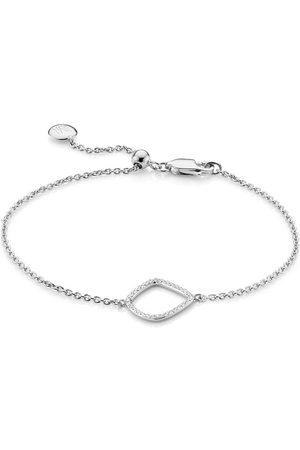 Monica Vinader Riva Diamond Kite Chain bracelet
