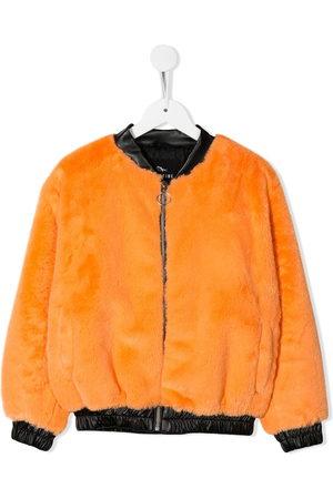 Le pandorine Girls Bomber Jackets - Faux fur bomber jacket