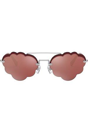 Miu Miu Women Aviators - Cloud aviator style sunglasses