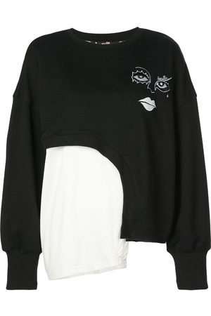 HACULLA Witch Hybrid asymmetric sweatshirt