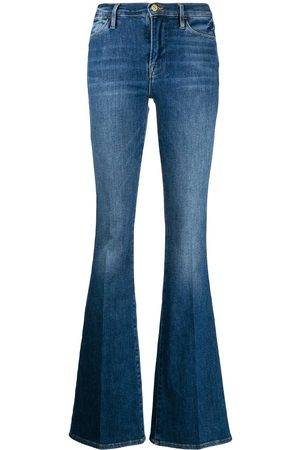 Frame Slim-fit flared jeans