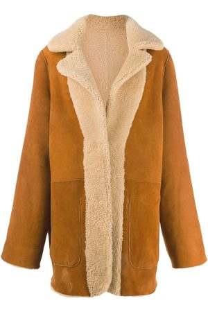 Natasha Zinko Women Coats - Oversized print coat