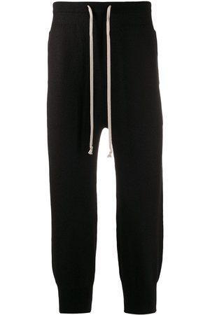 Rick Owens Men Sweatpants - Drawstring track pants