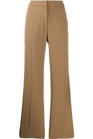 Nº21 Straight-leg tailored trousers - Neutrals