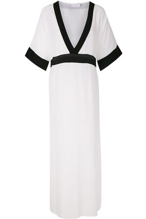 Brigitte Silk long dress - Multicolour