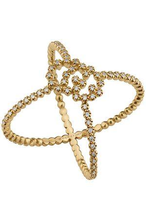 Gucci GG Running diamond X ring - 8000