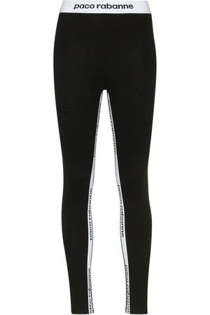 Paco rabanne Logo-print leggings