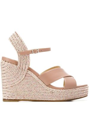 Jimmy Choo Women Wedges - Dellena 100mm wedge sandals