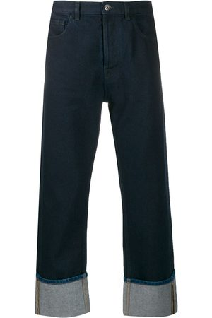 VALENTINO Men Straight - VLOGO pocket denim jeans