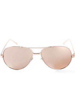Linda Farrow 128' sunglasses - Neutrals