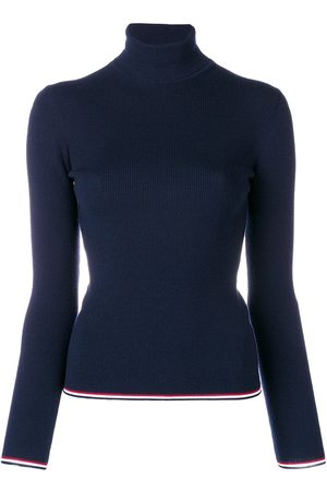 Thom Browne RWB-trim roll-neck jumper