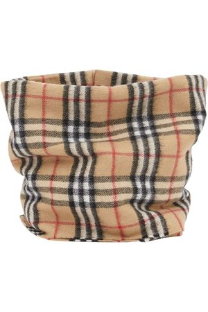 Burberry Kids Vintage Check snood - Neutrals