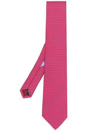 Salvatore Ferragamo Men Bow Ties - Gancio print tie