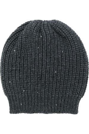 Brunello Cucinelli Women Beanies - Chunky knit beanie