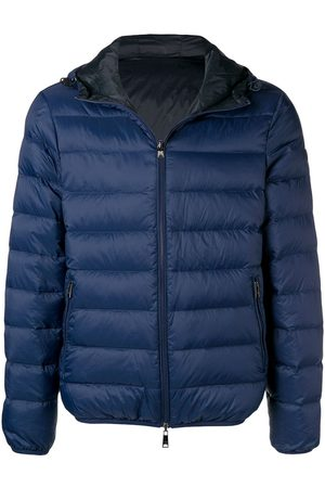 Emporio Armani Men Puffer Jackets - Front zip padded jacket