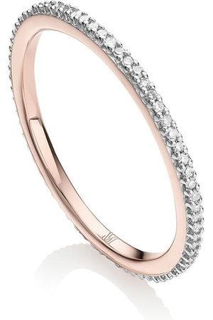 Monica Vinader Women Rings - Skinny Eternity Diamond ring
