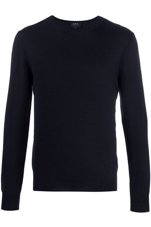 A.P.C Men Sweatshirts - Achille fine knit jumper