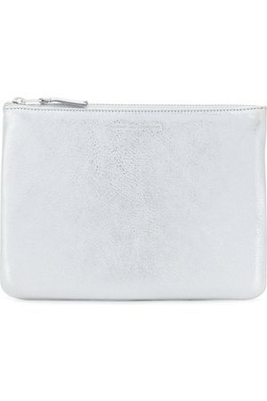 Comme des Garçons Wallets - Classic top zip wallet - Metallic