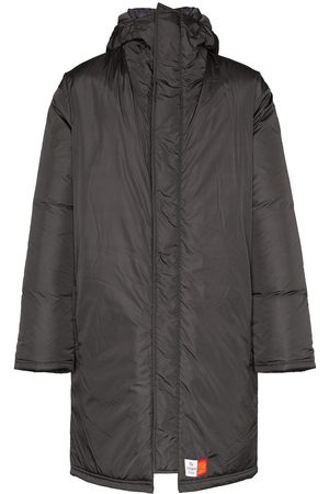 MARTINE ROSE Wenger padded parka coat - Grey