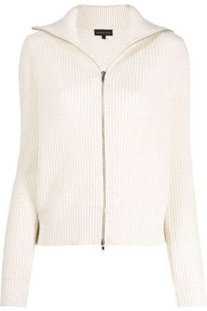 Cashmere In Love Women Cardigans - Ribbed roll-neck Isla cardigan