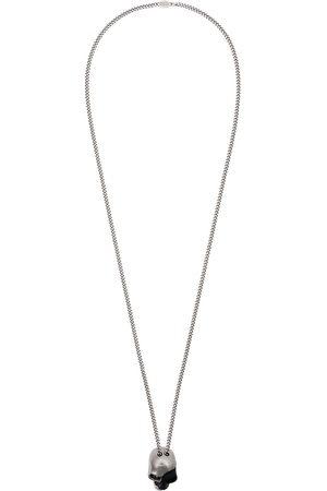 Alexander McQueen Men Necklaces - Divided skull pendant necklace
