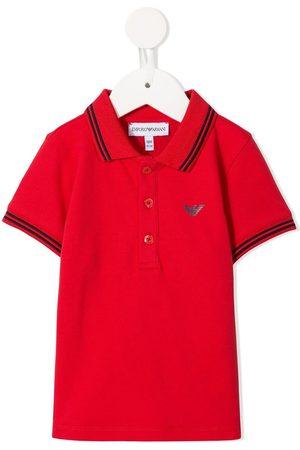 Emporio Armani Logo embellished polo shirt