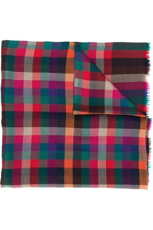 Etro Men Scarves - Checked scarf