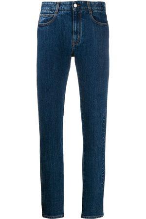 Stella McCartney Women Straight - Logo embossed jeans