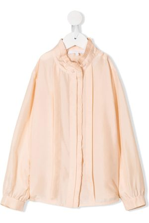 Chloé Girls Blouses - Pleated trim blouse