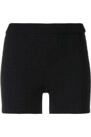 NO KA' OI Textured compression shorts