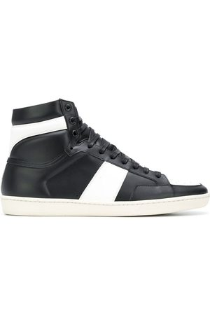 Saint Laurent Men Sneakers - Court Classic SL/10 high-top sneakers