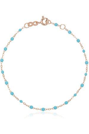 GIGI CLOZEAU 18k rose gold Classic Gici sky beaded bracelet
