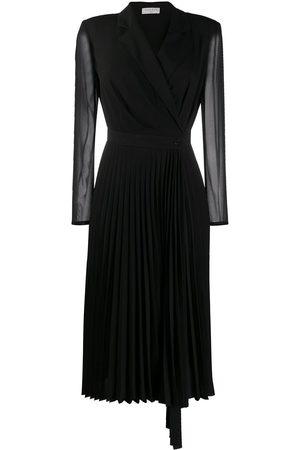 Sandro Longsleeved V-neck dress